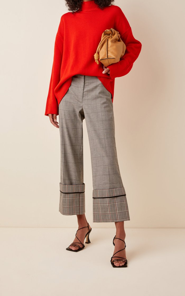 Oversized Cuff Trousers
