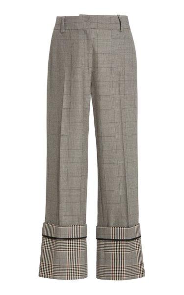 Oversized Cuff Trousers