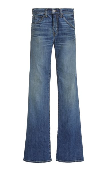 Celia Low-Rise Flared Jeans