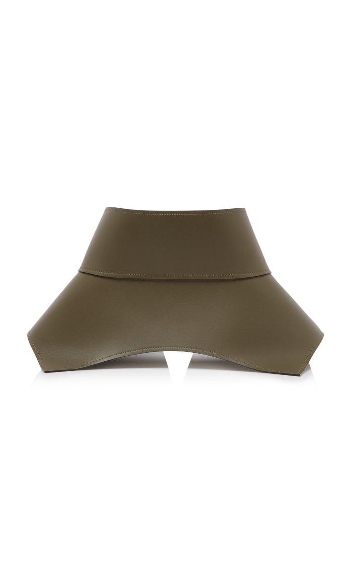 Obi Leather Waist Belt