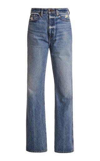 Danielle Rigid High-Rise Straight-Leg Jean