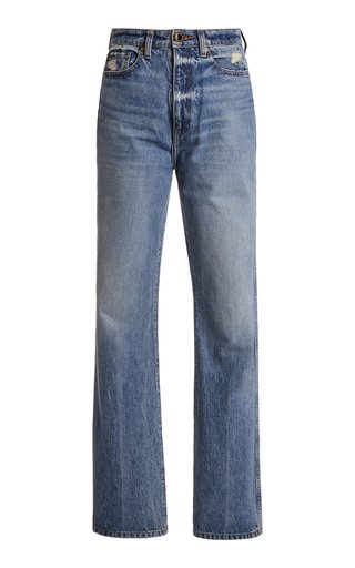 Danielle Rigid High-Rise Straight-Leg Jean