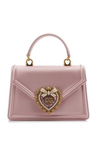 Small Devotion Embellished Satin Bag