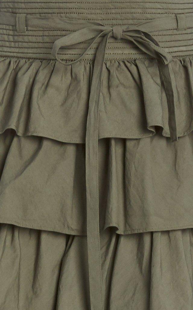 Margot Ruffled Tiered Maxi Skirt