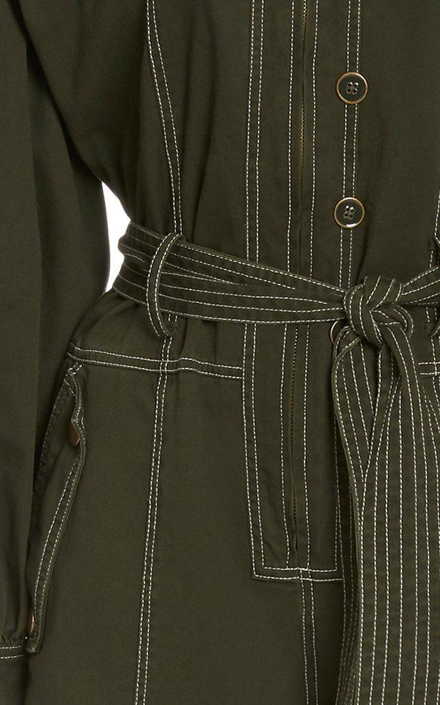 Stearling Cotton Utilitarian Jumpsuit