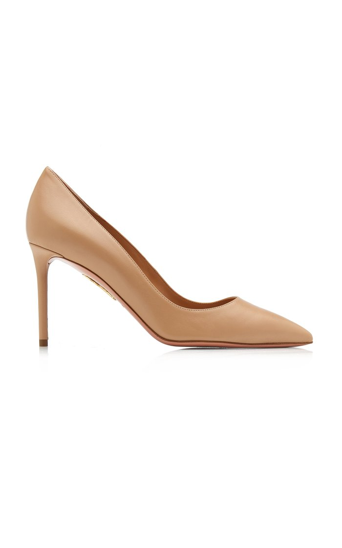 Purist Leather Pumps