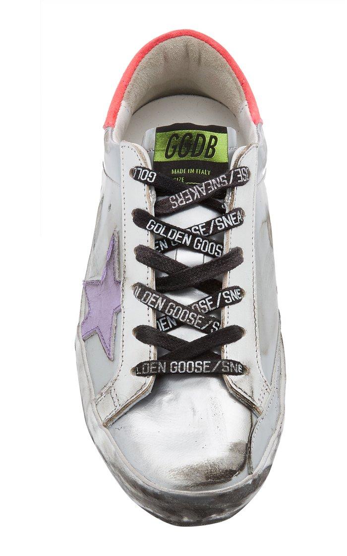 Superstar Metallic Patent Leather Sneakers