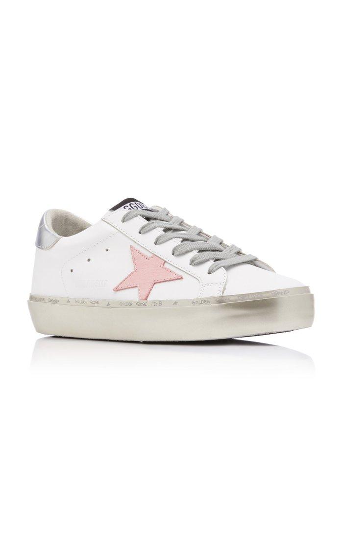 Hi Star Platform Leather Sneakers