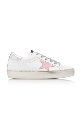 Hi Star Platform Leather Sneakers