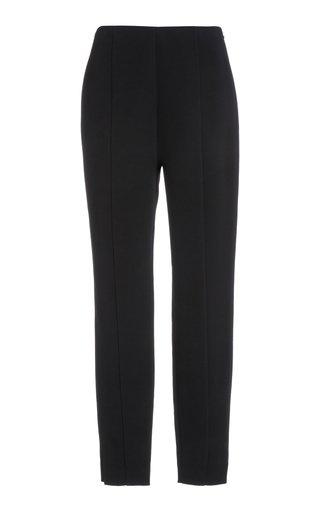 Stretch-Wool Slim-Leg Pants