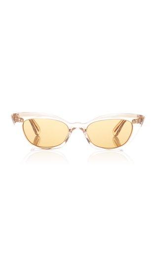 Bianka Acetate Cat-Eye Sunglasses