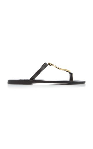 Aten Metal-Detailed Leather Sandals