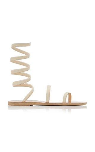Ofis Leather Wrap Sandals