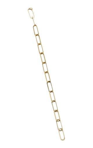 14K Yellow Gold Key Chain Bracelet