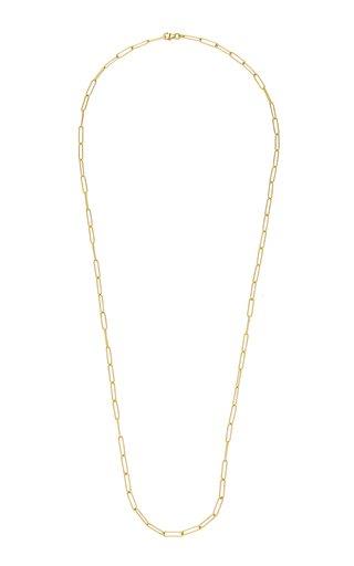 18K Yellow Gold Handmade Link Chain