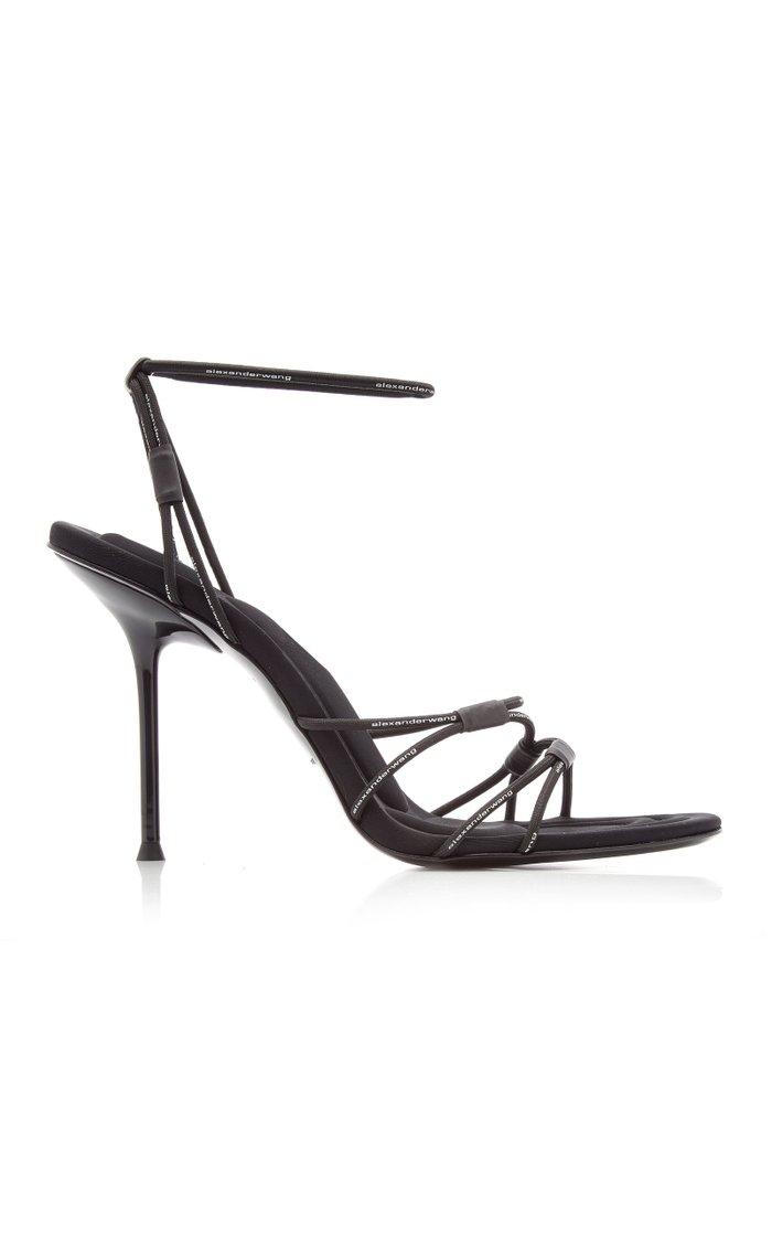 Sienna Bungee Leather Heeled Sandals