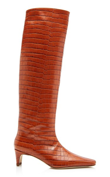 Wally Embossed Boots
