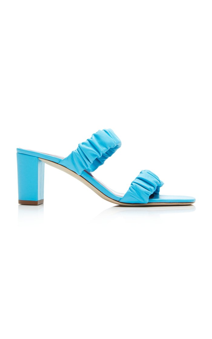 Frankie Ruched Sandals