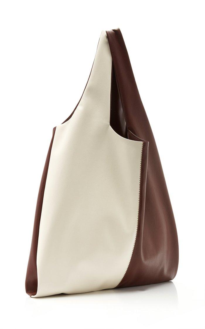 Jo Color-Block Vegan Leather Tote