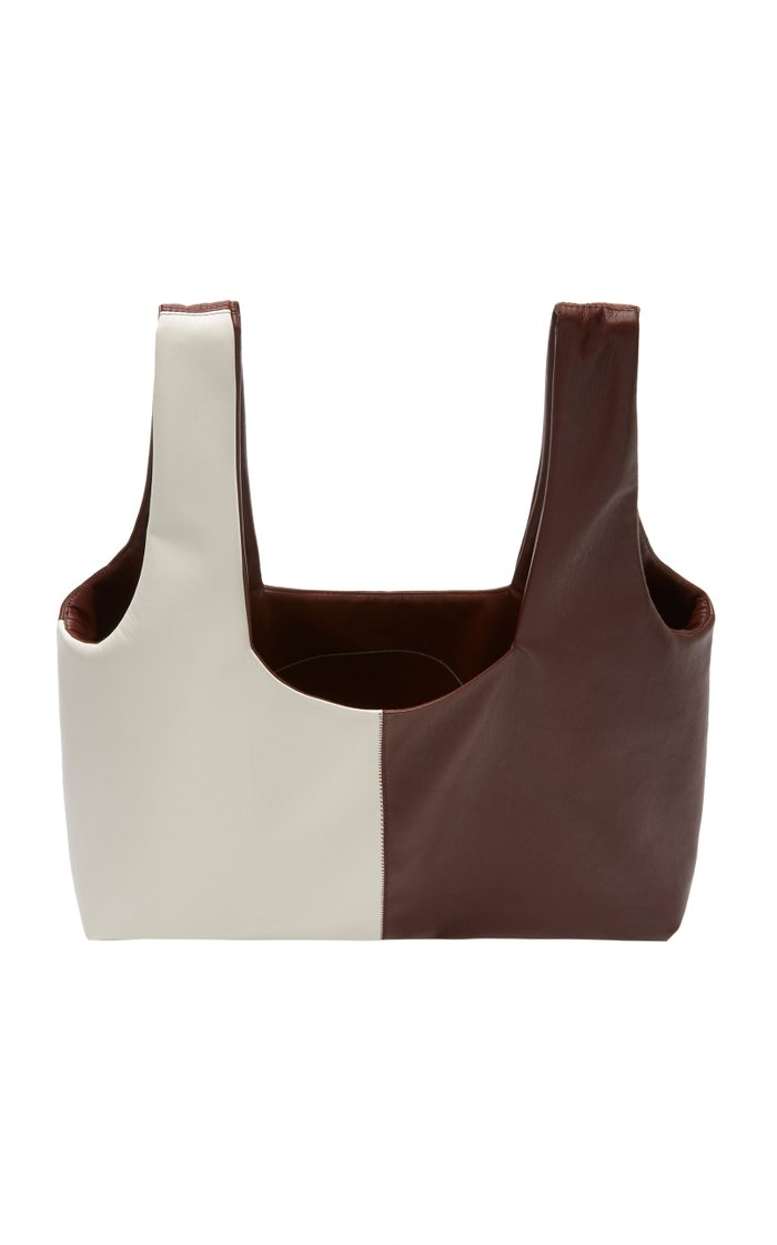 Jo Color-Block Vegan Leather Tote