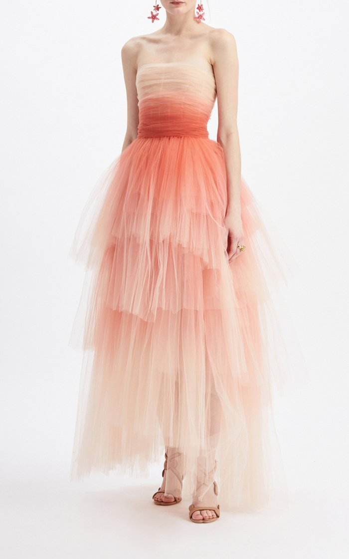 Ombré Organza Dress