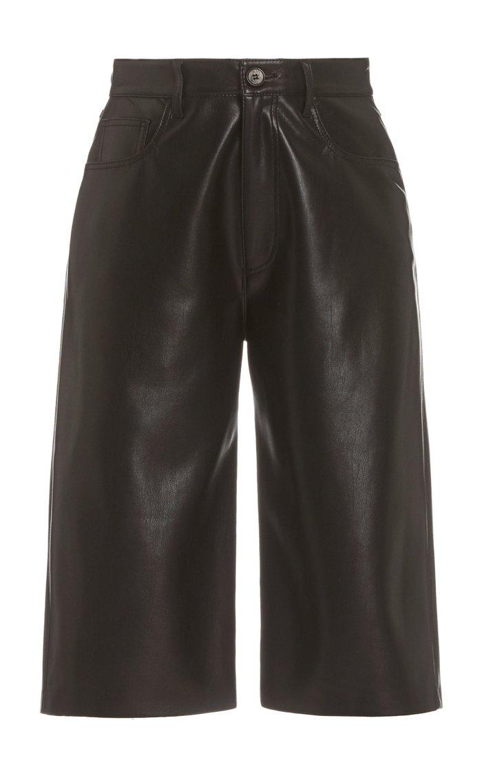 Nampeyo Vegan Leather Shorts