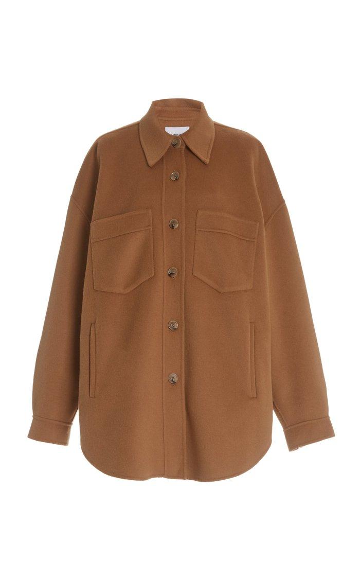 Martin Oversized Wool Silk Jacket