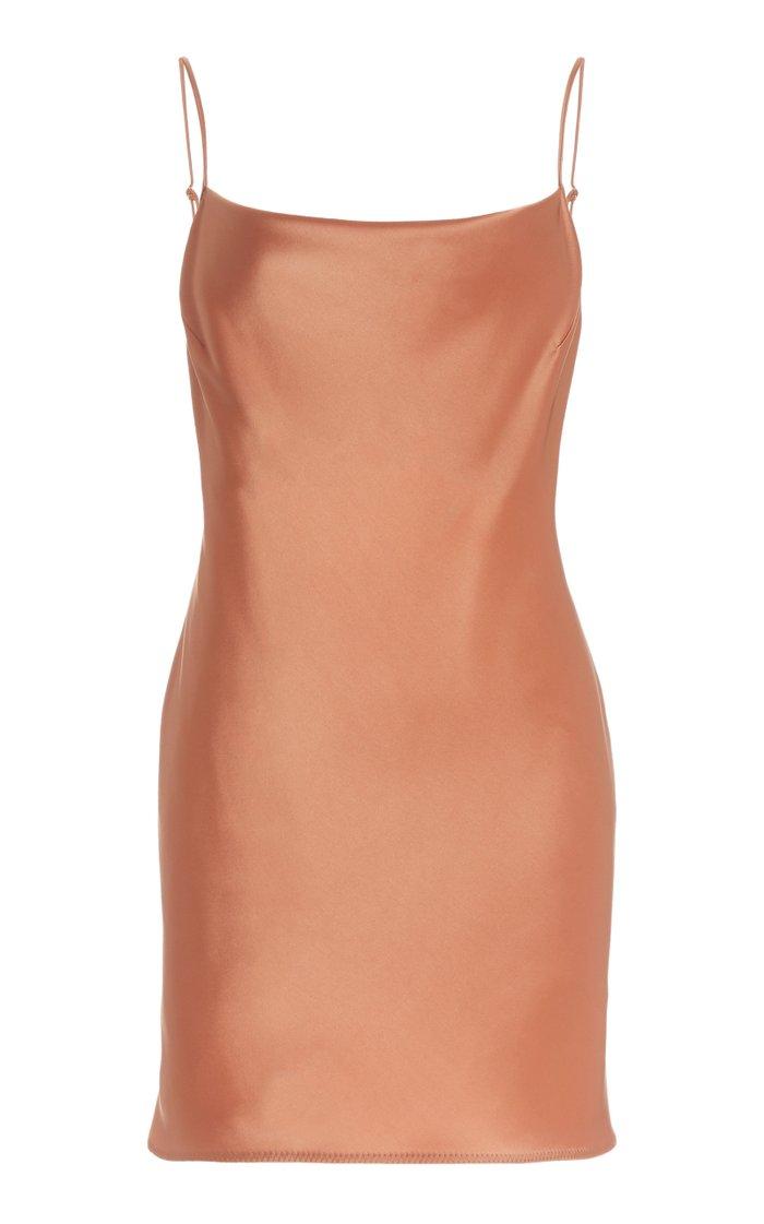 Lotti Satin Mini Slip Dress