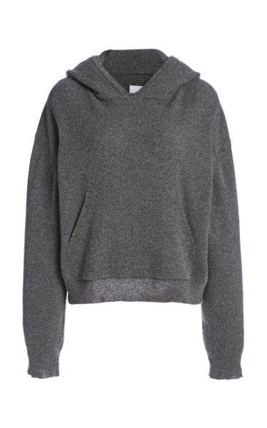 Mog Cotton-Jersey Hooded Sweatshirt