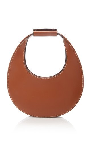 Mini Leather Moon Bag