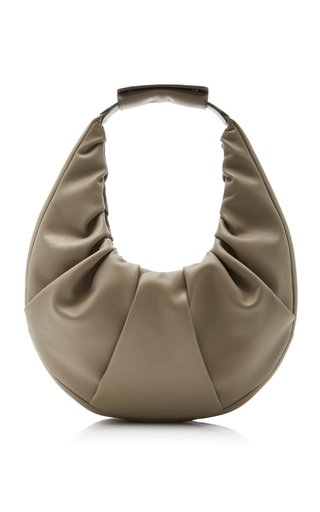 Soft Leather Moon Bag