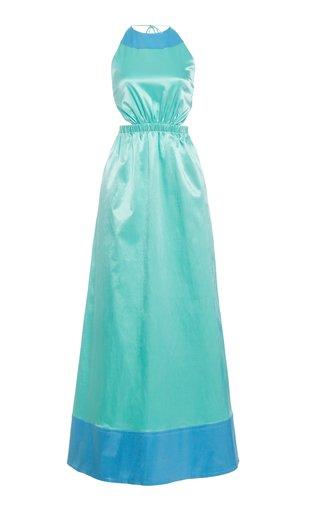 Sidney Sateen Cutout Dress