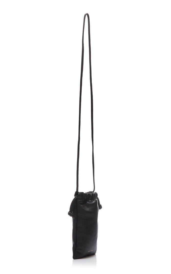 Pillow Leather Crossbody Bag