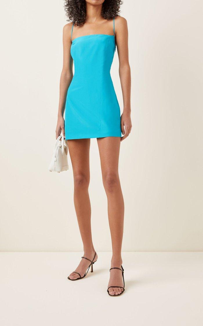 Toyama Silk Mini Dress