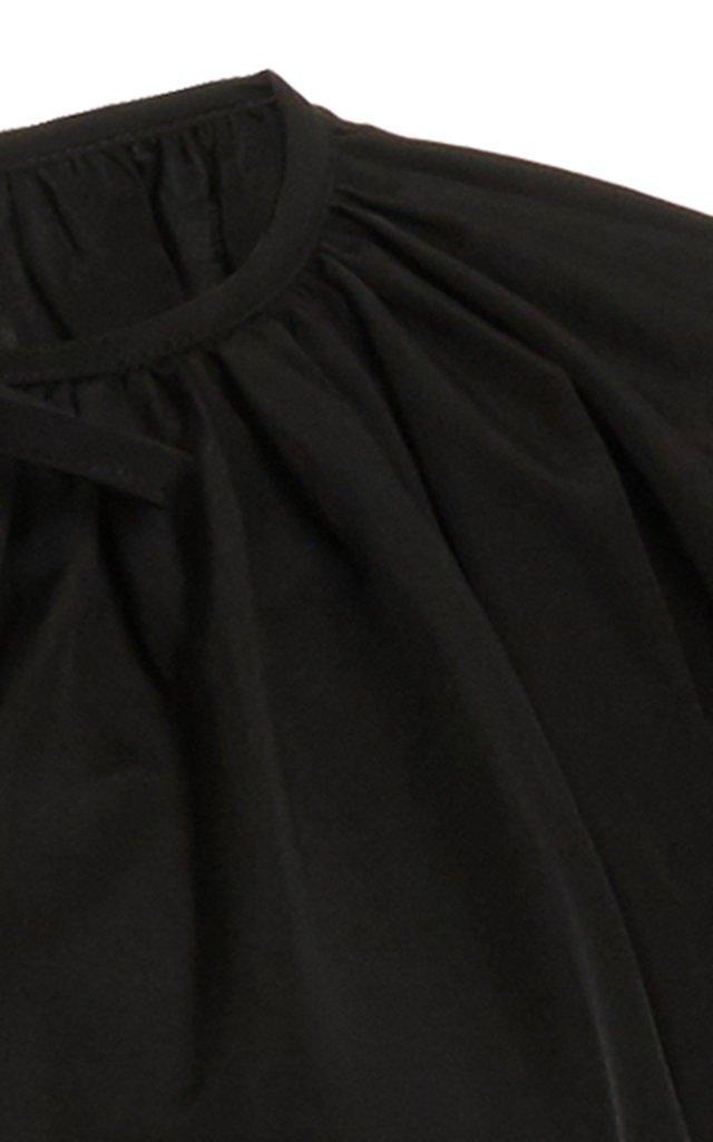 Ninette Tie-Front Linen-Blend Top