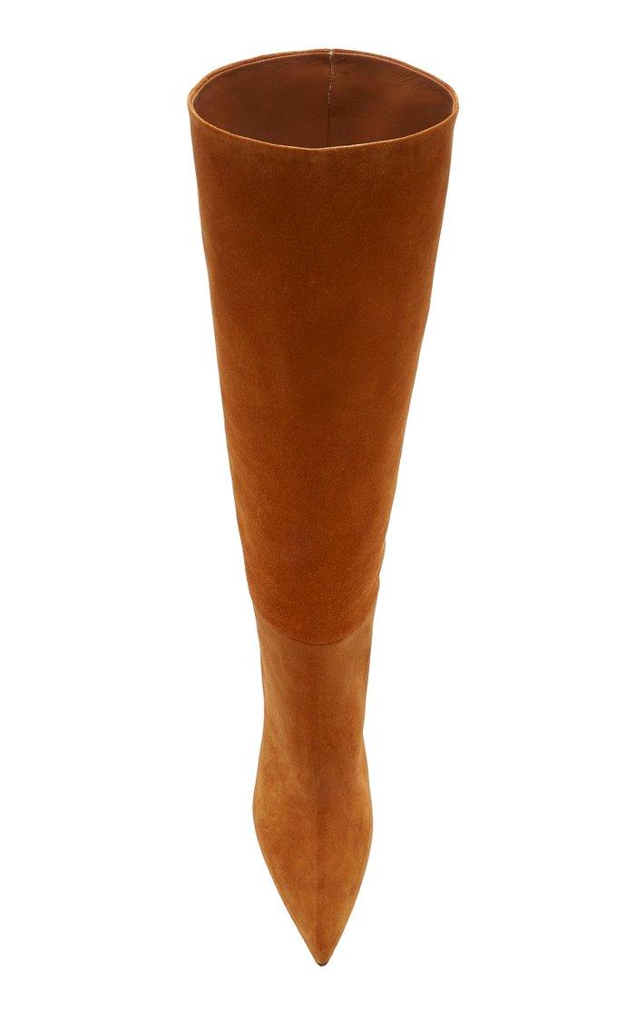 Suede Knee Boots