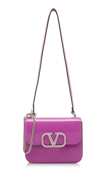 Valentino Garavani Vsling Small Patent Leather Shoulder Bag