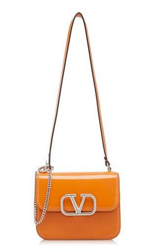 Valentino Garavani Vsling Small Patent Leather Shoulder Bag