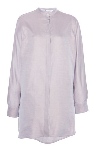 Cotton-Twill Long Shirt
