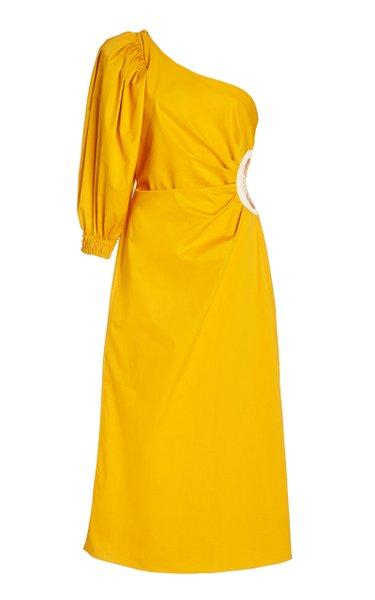 Refulgence Of Stars One-Shoulder Dress