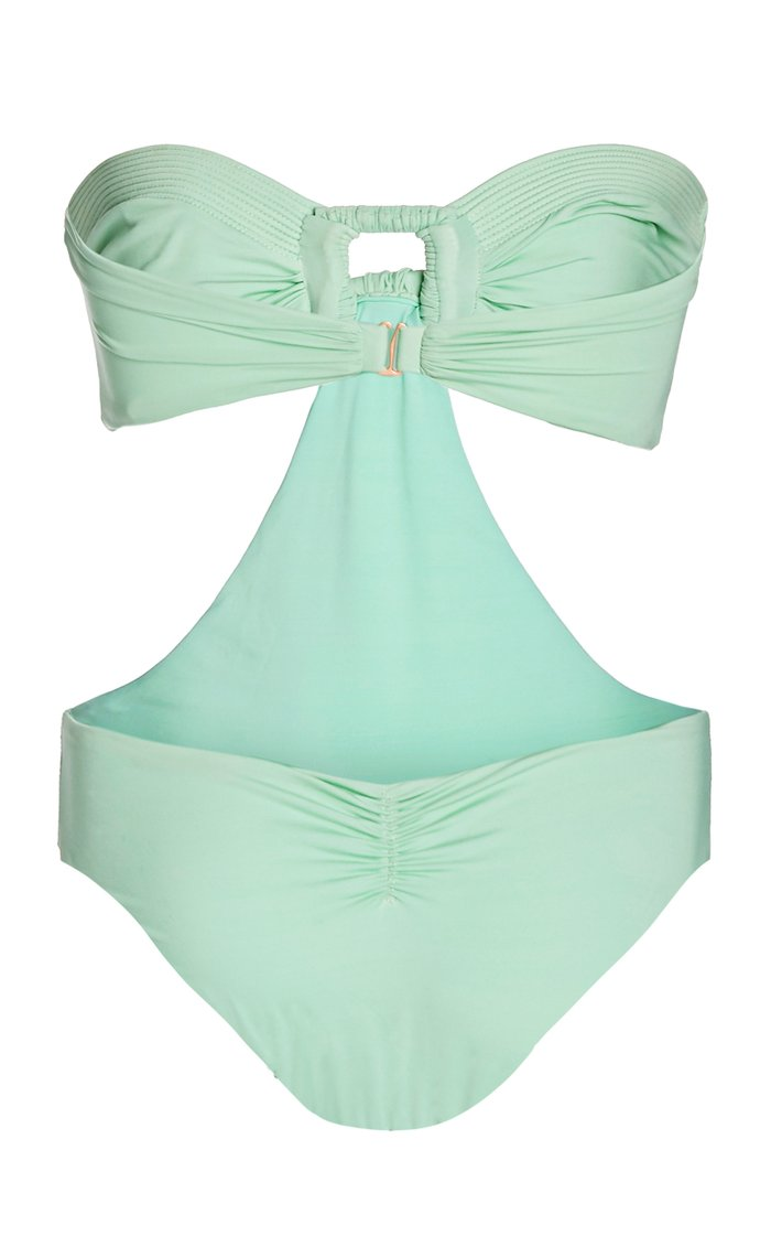 Mint Goddess Strapless Swimsuit