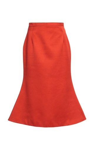 Satin Bell Skirt