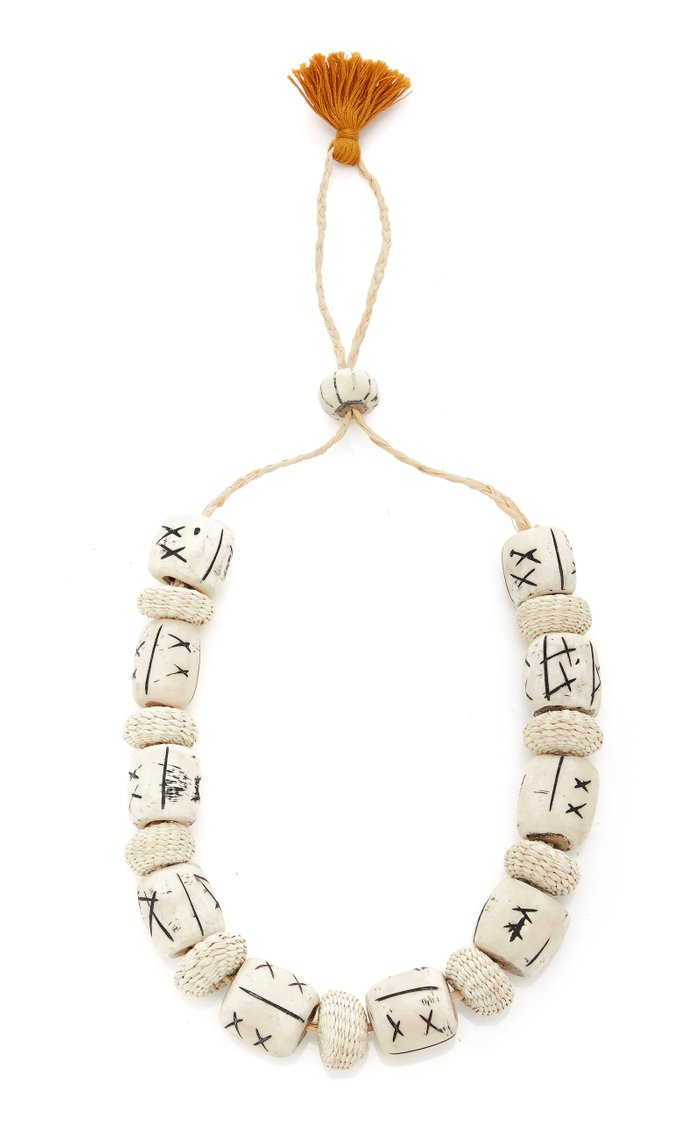 Forty Days Road Bone Necklace