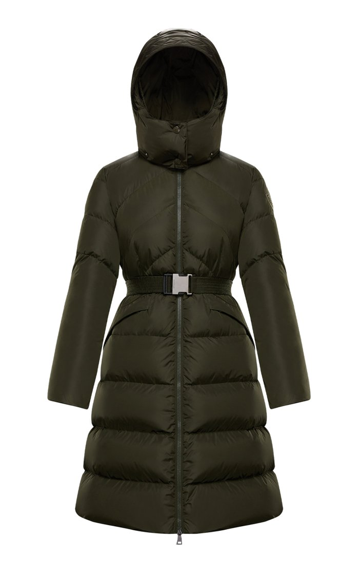 Agot Hooded Long Down Puffer Coat