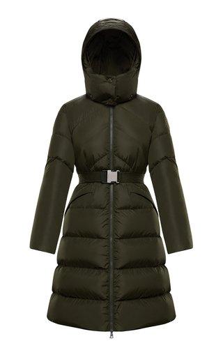 Agot Hooded Long Down Puffer Coat
