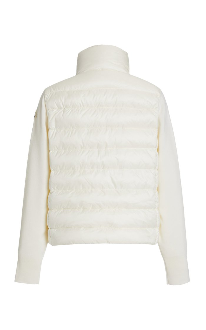 Wool-Trimmed Down Puffer Jacket