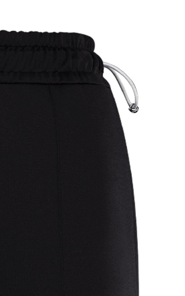 High-Rise Logo-Detailed Cotton Track Pants