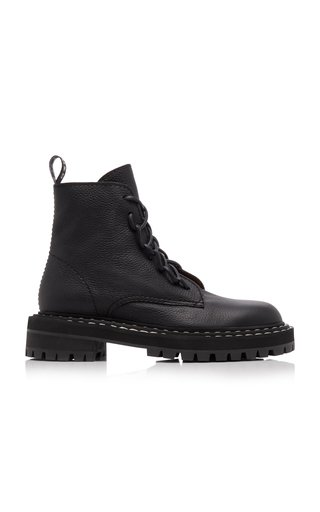 Leather Combat Boots