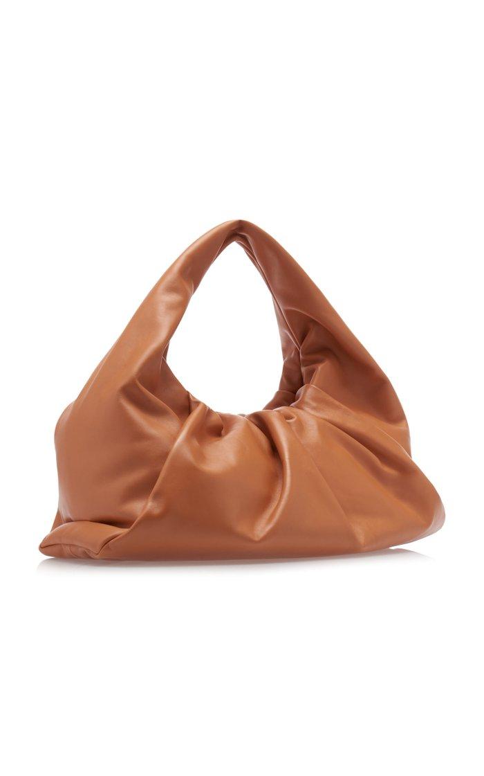 Medium Leather Hobo Bag