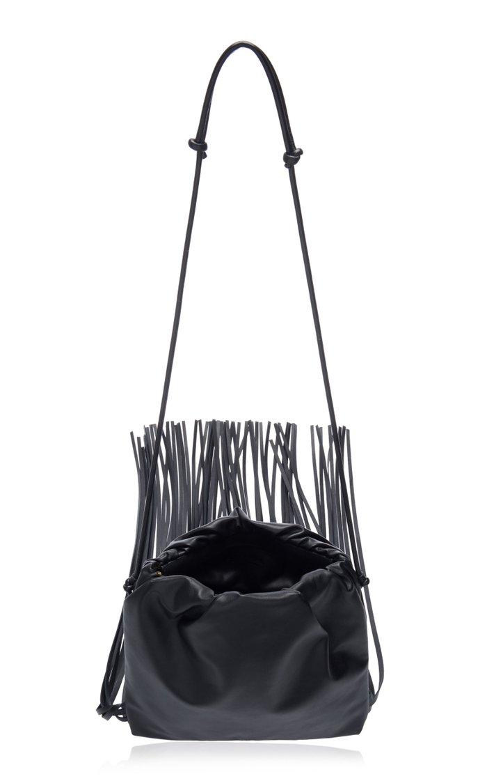 The Fringe Leather Crossbody Bag